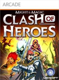 Box cover for Might & Magic Clash of Heroes on the Microsoft Xbox Live Arcade.