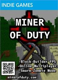 Box cover for Miner Of Duty on the Microsoft Xbox Live Arcade.