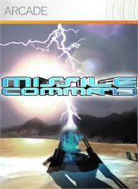 Box cover for Missile Command on the Microsoft Xbox Live Arcade.