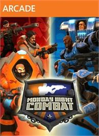 Box cover for Monday Night Combat on the Microsoft Xbox Live Arcade.