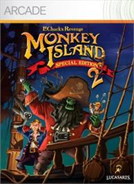 Box cover for Monkey Island 2: SE on the Microsoft Xbox Live Arcade.