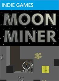 Box cover for Moon Miner on the Microsoft Xbox Live Arcade.