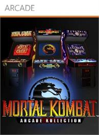Box cover for Mortal Kombat Arcade on the Microsoft Xbox Live Arcade.
