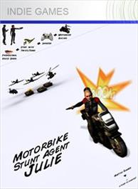 Box cover for Motorbike Stunt Agent Julie on the Microsoft Xbox Live Arcade.