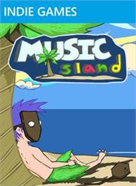 Box cover for Music Island on the Microsoft Xbox Live Arcade.