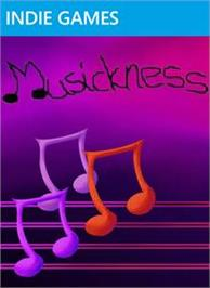 Box cover for Musickness on the Microsoft Xbox Live Arcade.