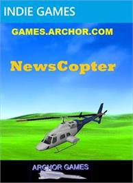 Box cover for NewsCopter on the Microsoft Xbox Live Arcade.