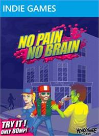 Box cover for No Pain No Brain on the Microsoft Xbox Live Arcade.