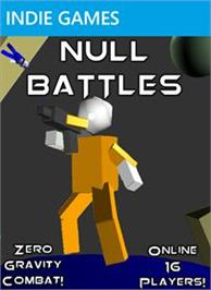 Box cover for Null Battles on the Microsoft Xbox Live Arcade.