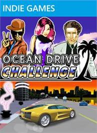 Box cover for Ocean Drive Challenge on the Microsoft Xbox Live Arcade.