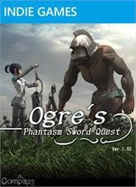 Box cover for Ogre's Phantasm Sword Quest on the Microsoft Xbox Live Arcade.