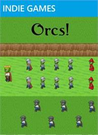 Box cover for Orcs! on the Microsoft Xbox Live Arcade.