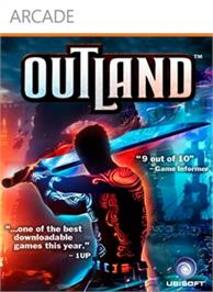 Box cover for Outland on the Microsoft Xbox Live Arcade.