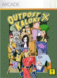 Box cover for Outpost Kaloki X on the Microsoft Xbox Live Arcade.