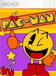 Box cover for PAC-MAN on the Microsoft Xbox Live Arcade.