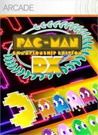 Box cover for PAC-MAN Championship Edition DX on the Microsoft Xbox Live Arcade.