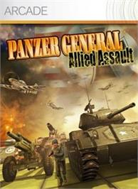 Box cover for Panzer General on the Microsoft Xbox Live Arcade.