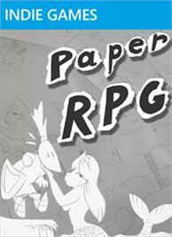 Box cover for Paper RPG on the Microsoft Xbox Live Arcade.