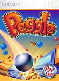 Box cover for Peggle on the Microsoft Xbox Live Arcade.
