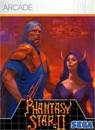 Box cover for Phantasy Star II on the Microsoft Xbox Live Arcade.