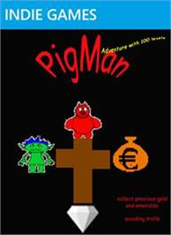 Box cover for PigMan on the Microsoft Xbox Live Arcade.