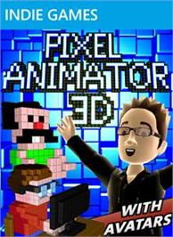Box cover for Pixel Animator 3D on the Microsoft Xbox Live Arcade.