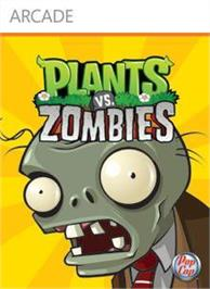 Box cover for Plants vs. Zombies on the Microsoft Xbox Live Arcade.