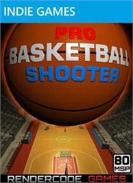 Box cover for Pro Basketball Shooter on the Microsoft Xbox Live Arcade.