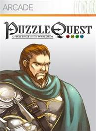 Box cover for Puzzle Quest on the Microsoft Xbox Live Arcade.