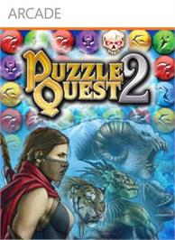 Box cover for Puzzle Quest 2 on the Microsoft Xbox Live Arcade.