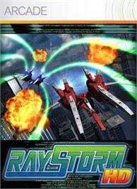 Box cover for RAYSTORM HD on the Microsoft Xbox Live Arcade.