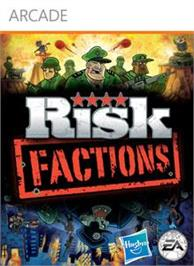 Box cover for RISK Factions on the Microsoft Xbox Live Arcade.