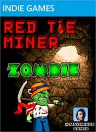 Box cover for Red Tie Miner Zombie on the Microsoft Xbox Live Arcade.