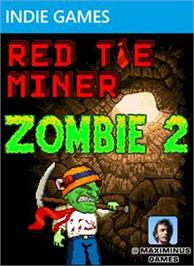 Box cover for Red Tie Miner Zombie 2 on the Microsoft Xbox Live Arcade.