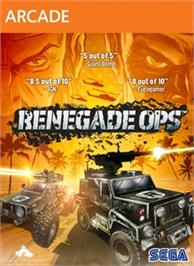 Box cover for Renegade Ops on the Microsoft Xbox Live Arcade.
