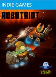 Box cover for Robotriot on the Microsoft Xbox Live Arcade.