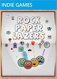 Box cover for Rock, Paper, Lazers on the Microsoft Xbox Live Arcade.
