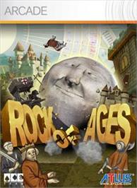 Box cover for Rock of Ages on the Microsoft Xbox Live Arcade.