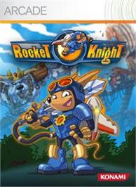 Box cover for Rocket Knight® on the Microsoft Xbox Live Arcade.