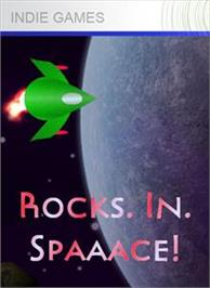 Box cover for Rocks. In. Spaaace! on the Microsoft Xbox Live Arcade.