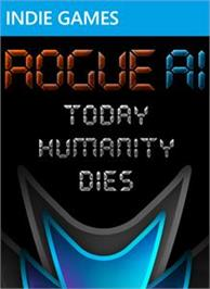 Box cover for Rogue AI on the Microsoft Xbox Live Arcade.
