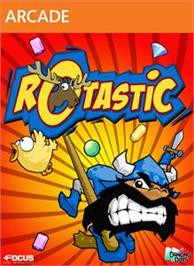 Box cover for Rotastic on the Microsoft Xbox Live Arcade.