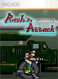 Box cover for Rush'n Attack on the Microsoft Xbox Live Arcade.