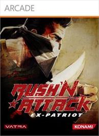 Box cover for RushN Attack: Ex-Patriot on the Microsoft Xbox Live Arcade.