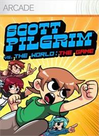 Box cover for SCOTT PILGRIM THE GAME on the Microsoft Xbox Live Arcade.