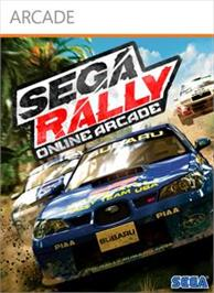 Box cover for SEGA Rally Online Arcade on the Microsoft Xbox Live Arcade.
