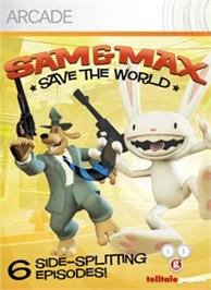 Box cover for Sam&Max Save the World on the Microsoft Xbox Live Arcade.
