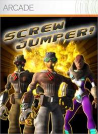 Box cover for Screwjumper! on the Microsoft Xbox Live Arcade.