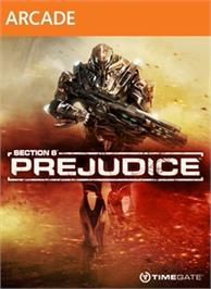 Box cover for Section 8®: Prejudice on the Microsoft Xbox Live Arcade.