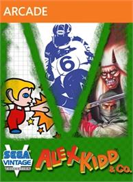 Box cover for Sega Vintage Collection: Alex Kidd & Co. on the Microsoft Xbox Live Arcade.